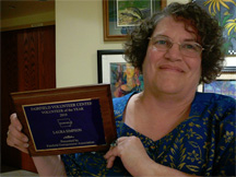 Laura Simpson, Volunteer of the Year